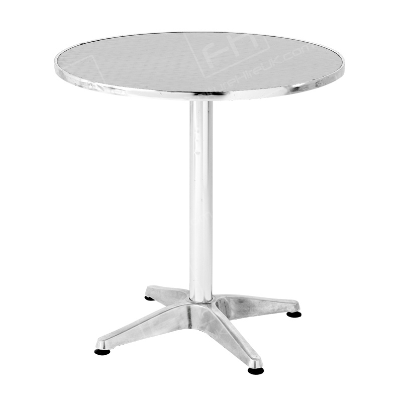 Bistro Table Hire Chrome Table Hire London Amp The Uk